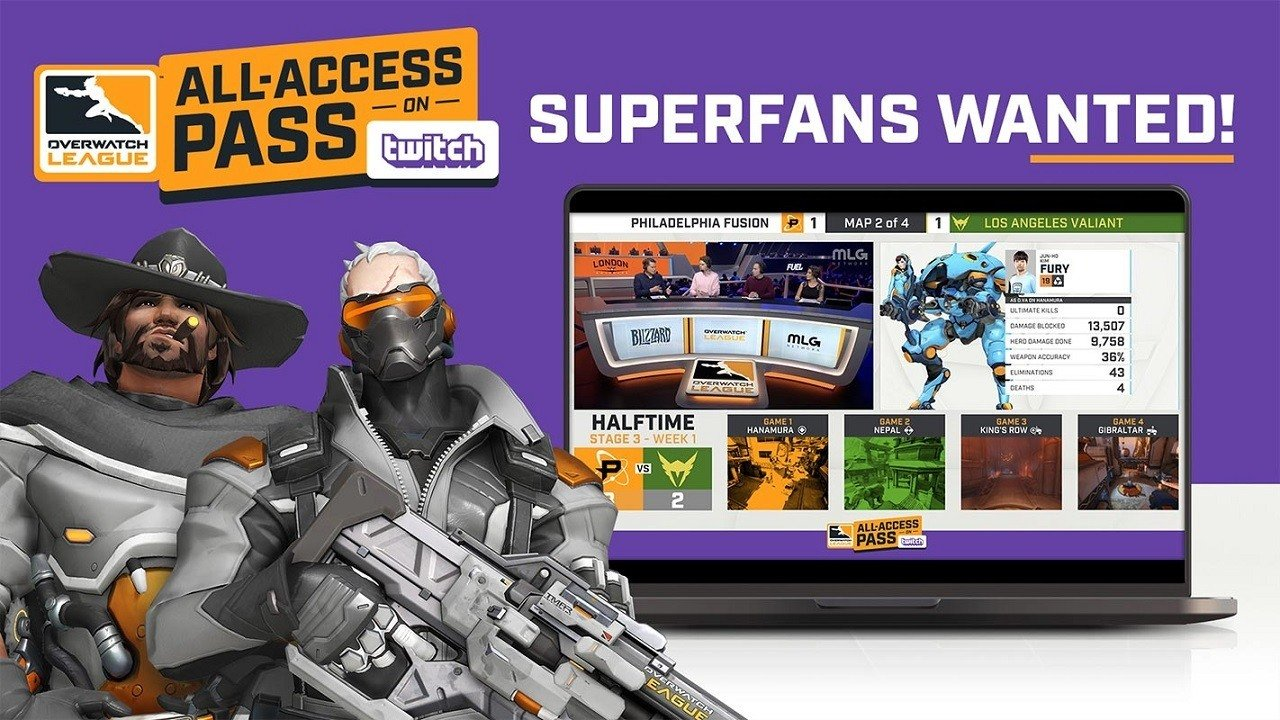 Overwatch League All-Access Pass Includes Twitch Emotes, in