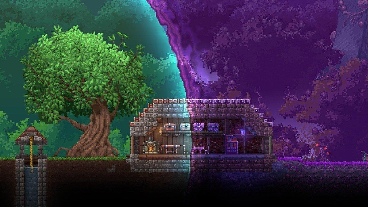 Terraria Christmas House.Terraria Otherworld Officially Cancelled