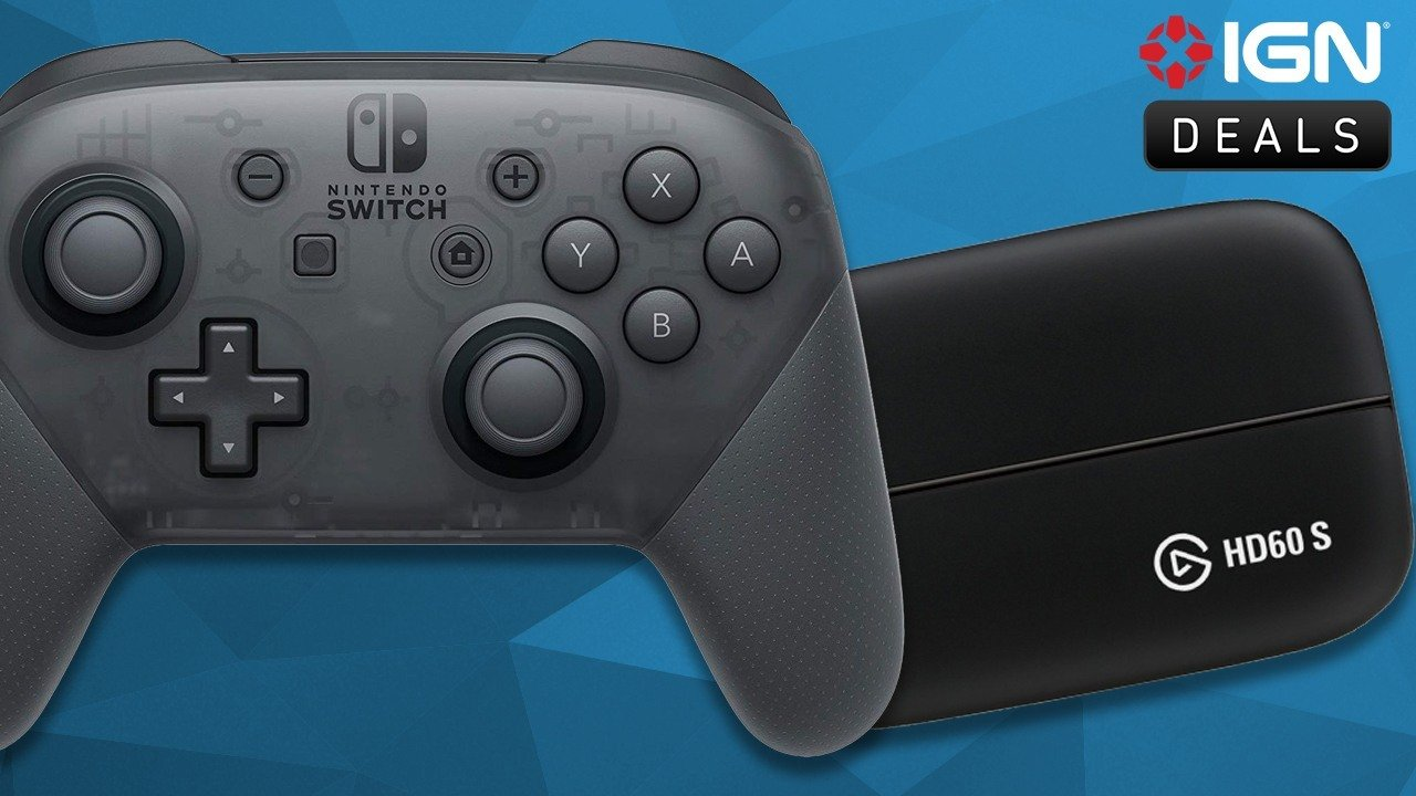 Daily Deals: Switch Pro Controller for $55, Elgato HD60 S