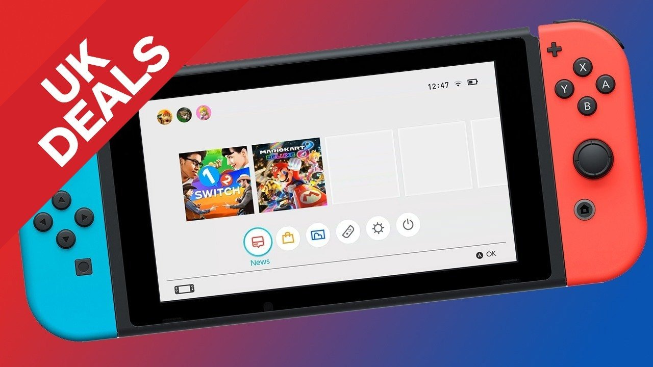 UK Daily Deals: Nintendo Switch Console under £300, Xbox One